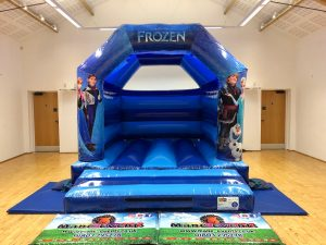 Frozen Bouncy Castle Hire Torquay