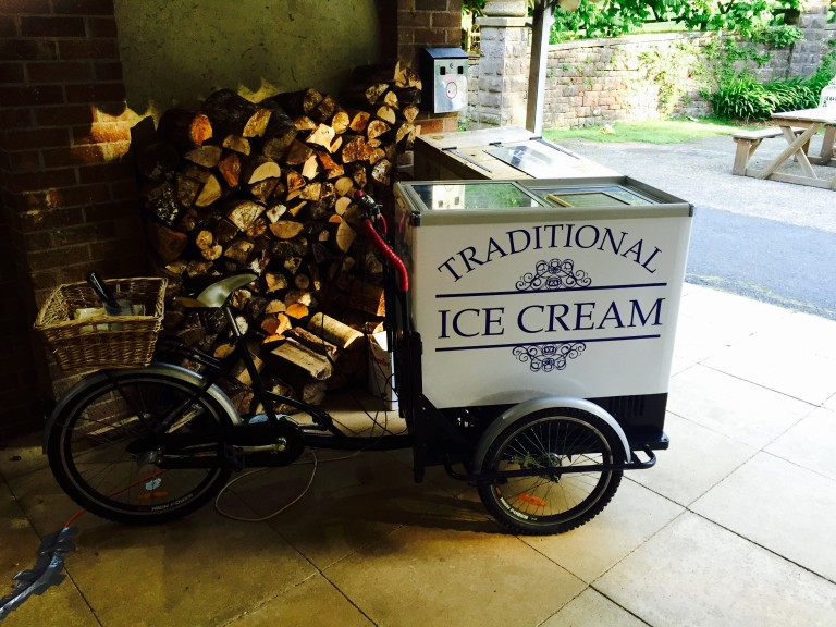 Ice Cream Bike Hire Exeter