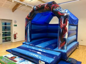 Spiderman Bouncy Castle Hire Paignton