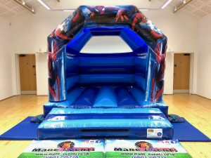 Spiderman Bouncy Castle Hire Torquay