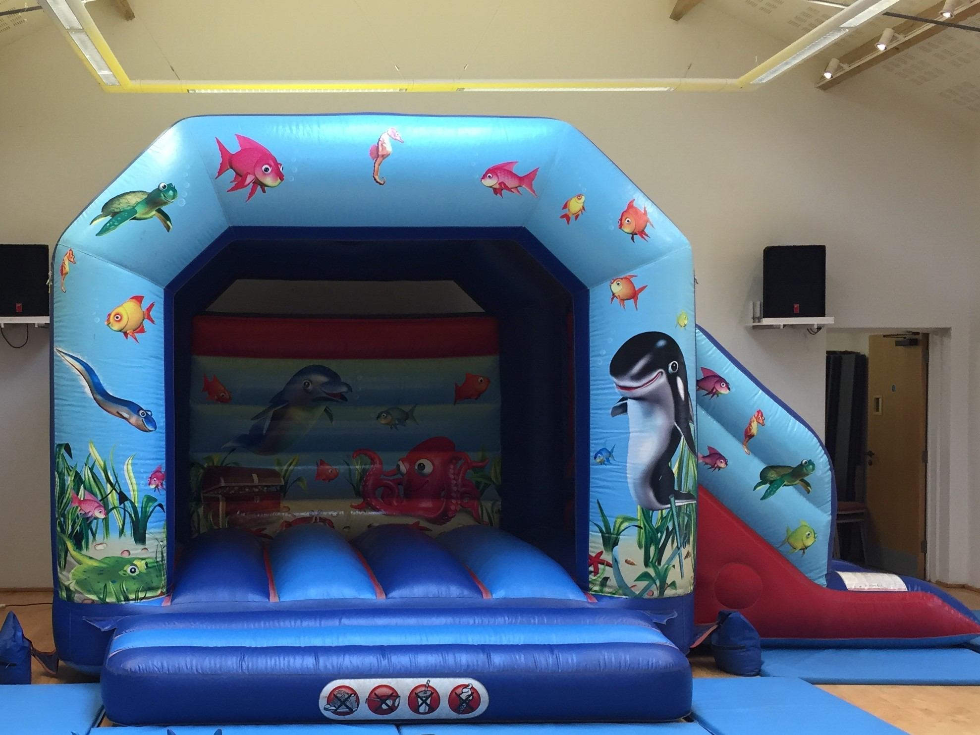 Under the Sea Bouncy Castle Hire Torquay