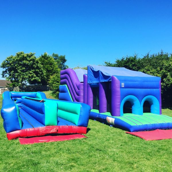 40ft Assault course & Bungee Run Hire Torquay