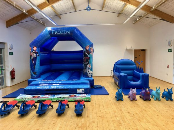 Frozen Bouncy Castle Party Package Torquay
