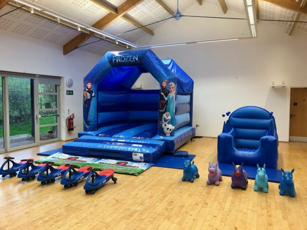 Frozen Bouncy Castle Hire Exeter
