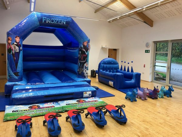 Frozen Bouncy Castle Hire Paignton