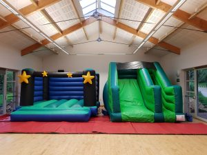 bouncy castle & slide hire in torbay, newton abbot and paington