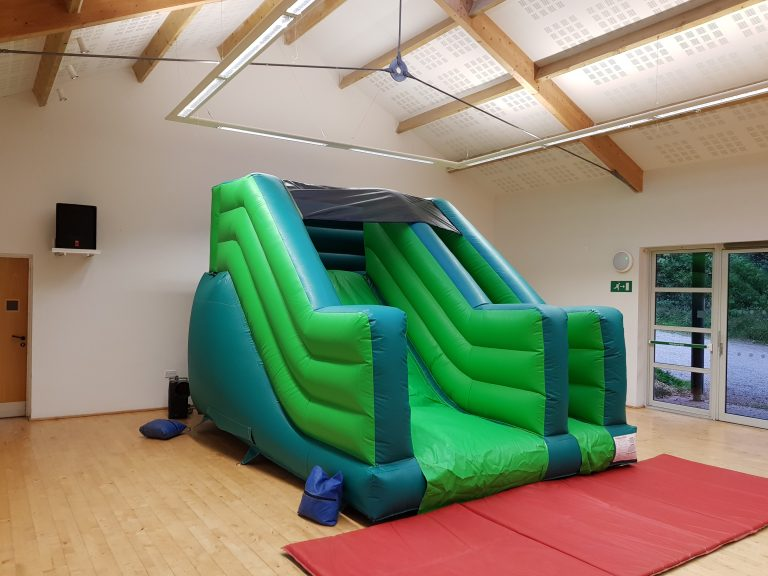 slide bouncy castle hire in torbay, newton abbot and paignton
