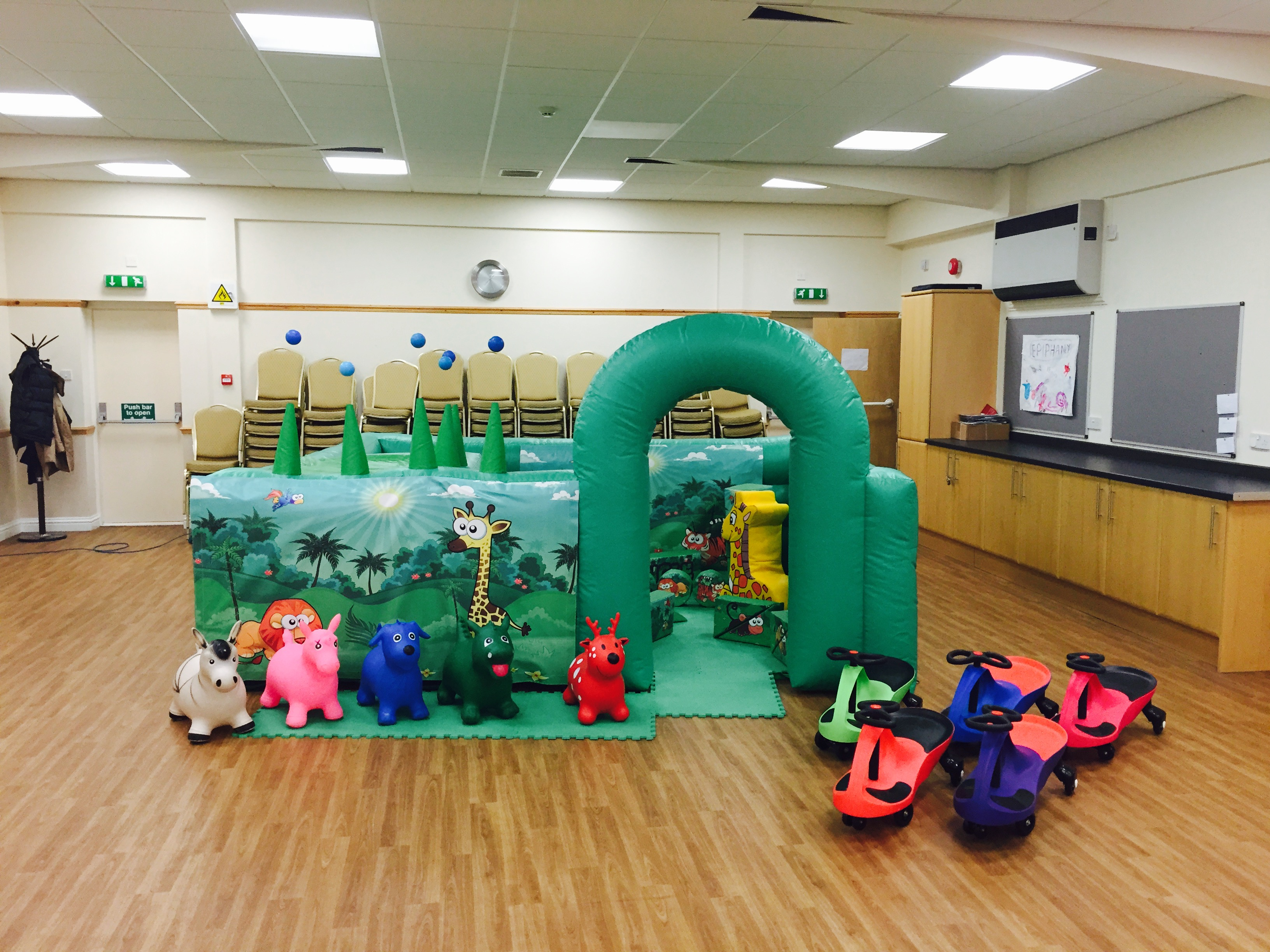 Jungle Zone Soft Play Hire Newton Abbot