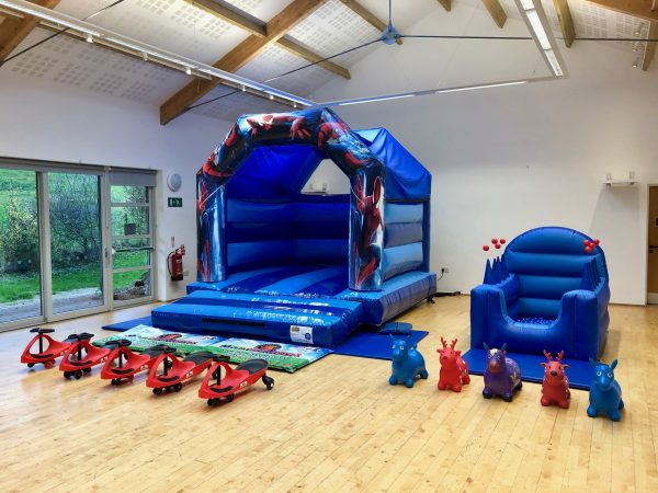 Spiderman Bouncy Castle Party Package In Torquay