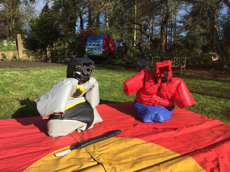 Super Hero Sumo Suits Devon