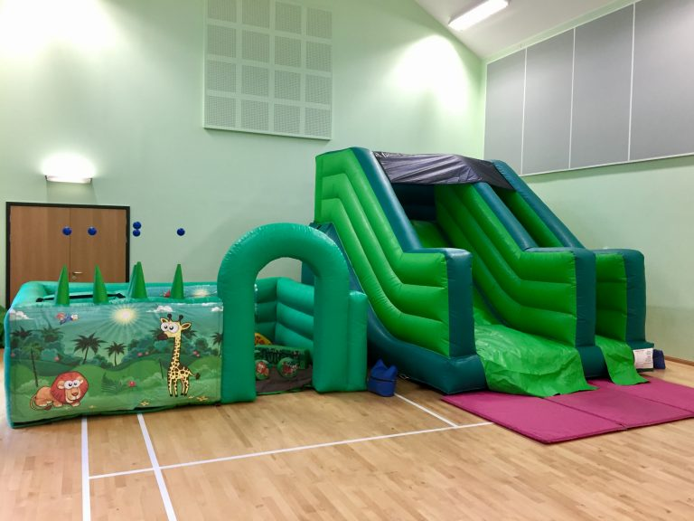 Bouncy Castle Slides Torquay & Toddler Party Package