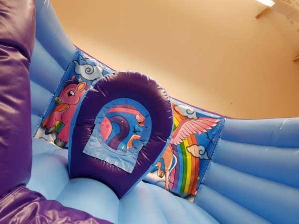 Unicorn Bouncy Castle Hire Newton Abbot