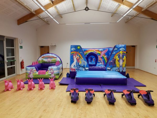 Unicorn Bouncy Castle Hire Torquay