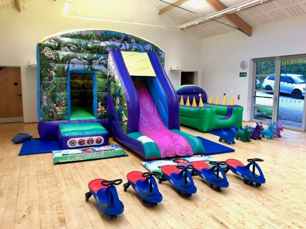 Fantasy Bouncy Castle Hire Package South Hams