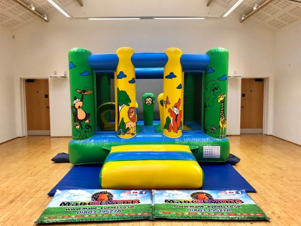 Jungle Bouncy Castle Hire Torquay