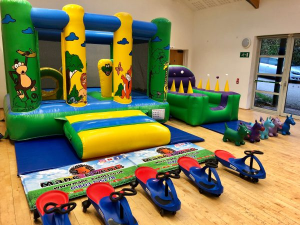 Jungle Bouncy Castle Party Package Teignmouth