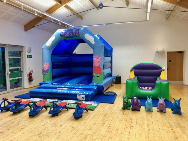 Peppa Pig Bouncy Castle Hire Newton Abbot