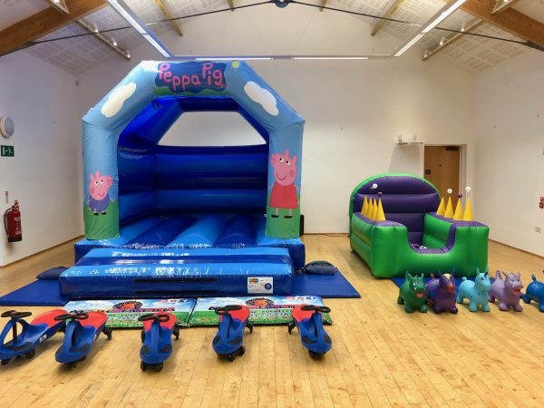 Peppa Pig Bouncy Castle Hire Torquay