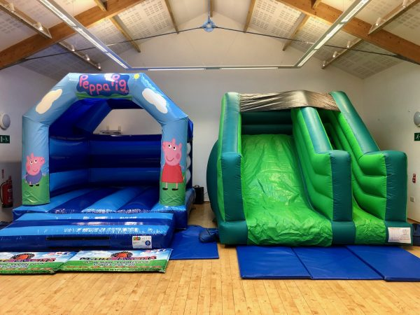 Peppa Pig Slide Bouncy Castle Hire Exeter
