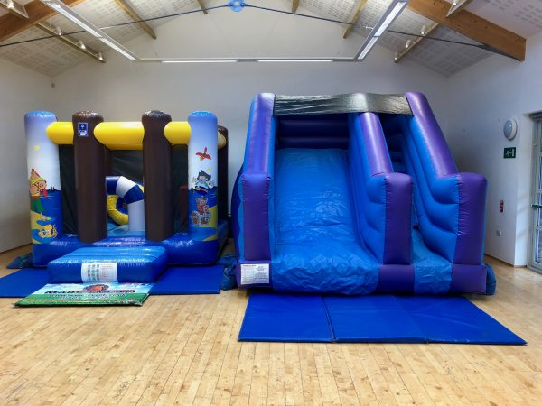Pirate Slide Bouncy Castle Hire Newton Abbot