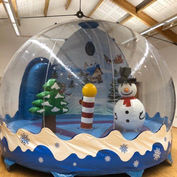 Christmas Themed Bouncy Castle