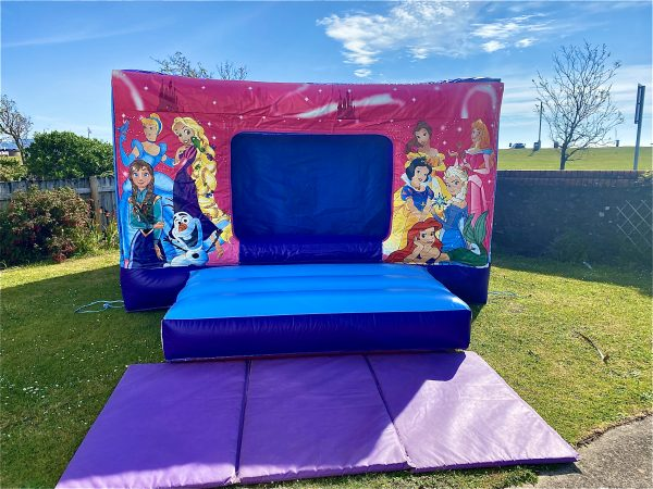 Princess Disco Bouncy Castle Hire Paignton