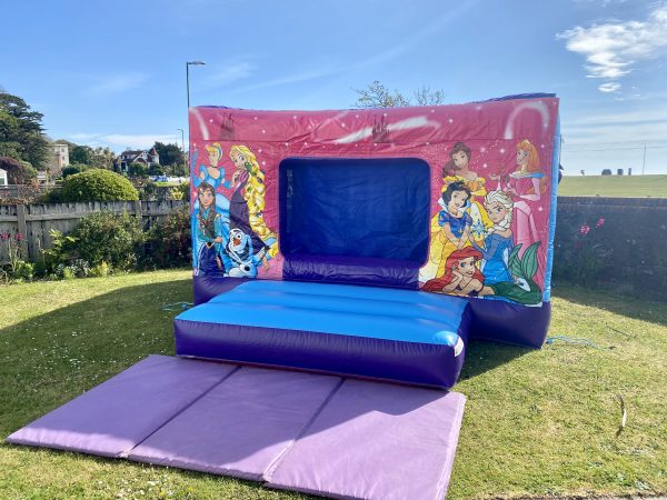Princess Disco Bouncy Castle Hire Exeter
