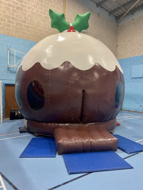 Christmas Pudding Disco Dome Torquay