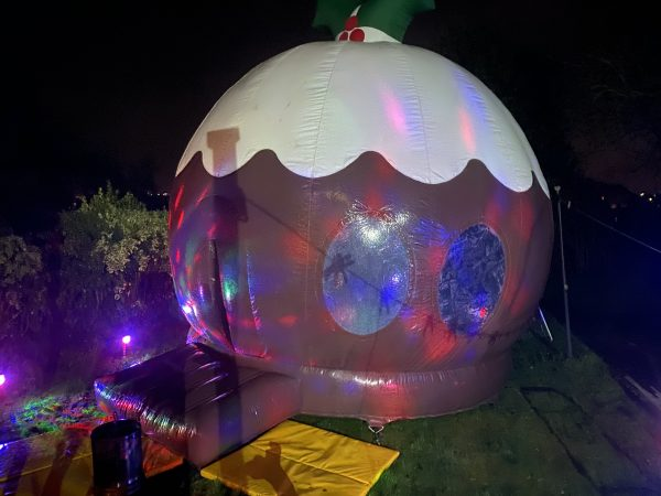 Christmas Pudding Disco Dome Hire Newton Abbot