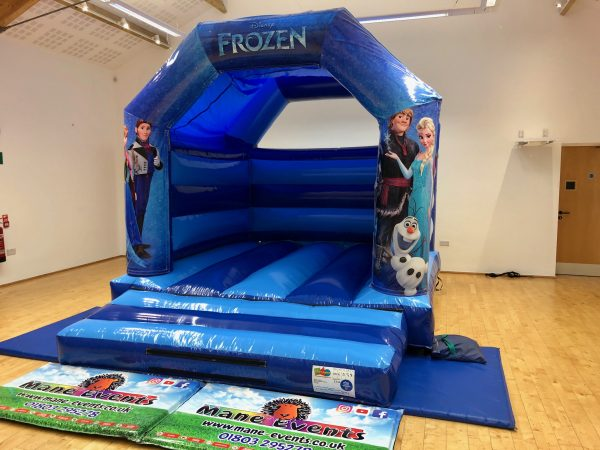 Frozen Bouncy Castle Hire Newton Abbot