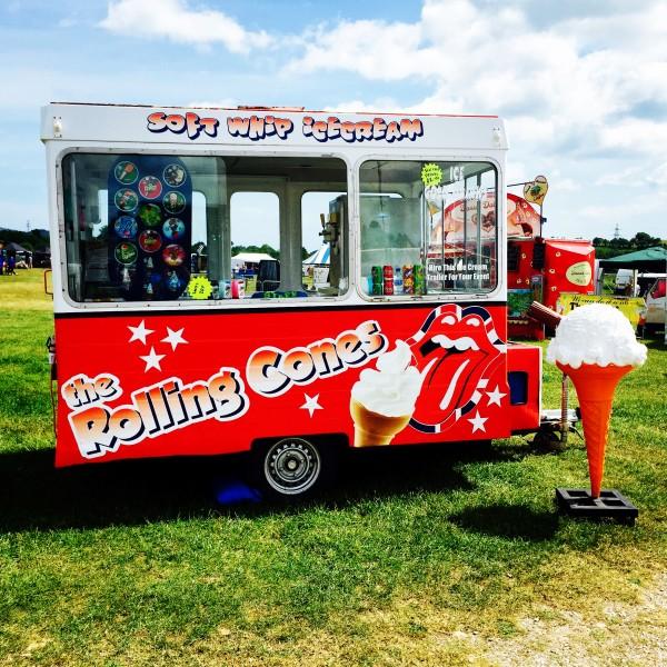 Ice Cream Trailer Hire Devon