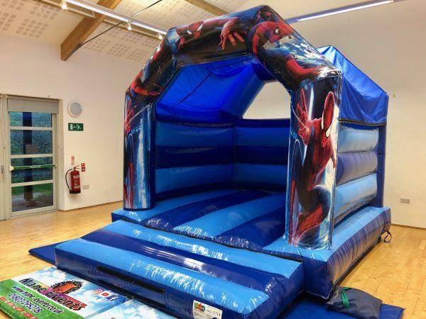 Spiderman Bouncy Castle Hire Paignton