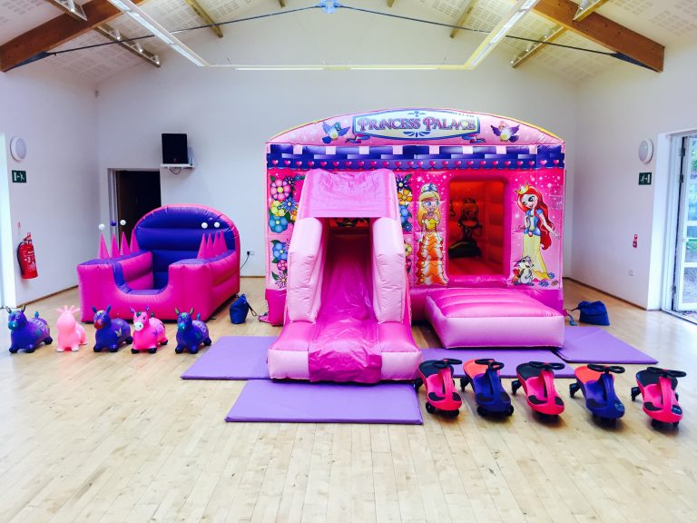 Princess Bouncy Castle Party Package Hire In Newton Abbot, Torbay, Torquay & Paignton