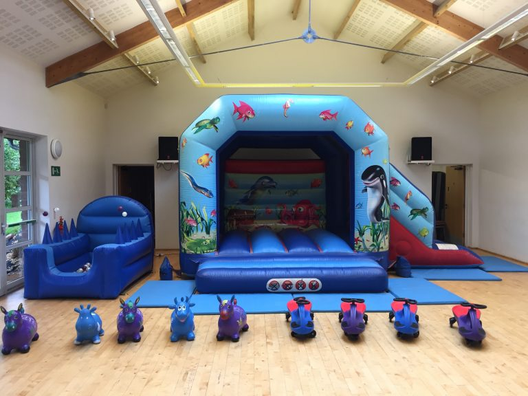 Under the Sea Bouncy Castle hire in Newton Abbot