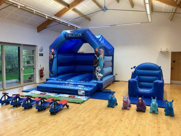 Frozen Bouncy Castle Hire Exeter