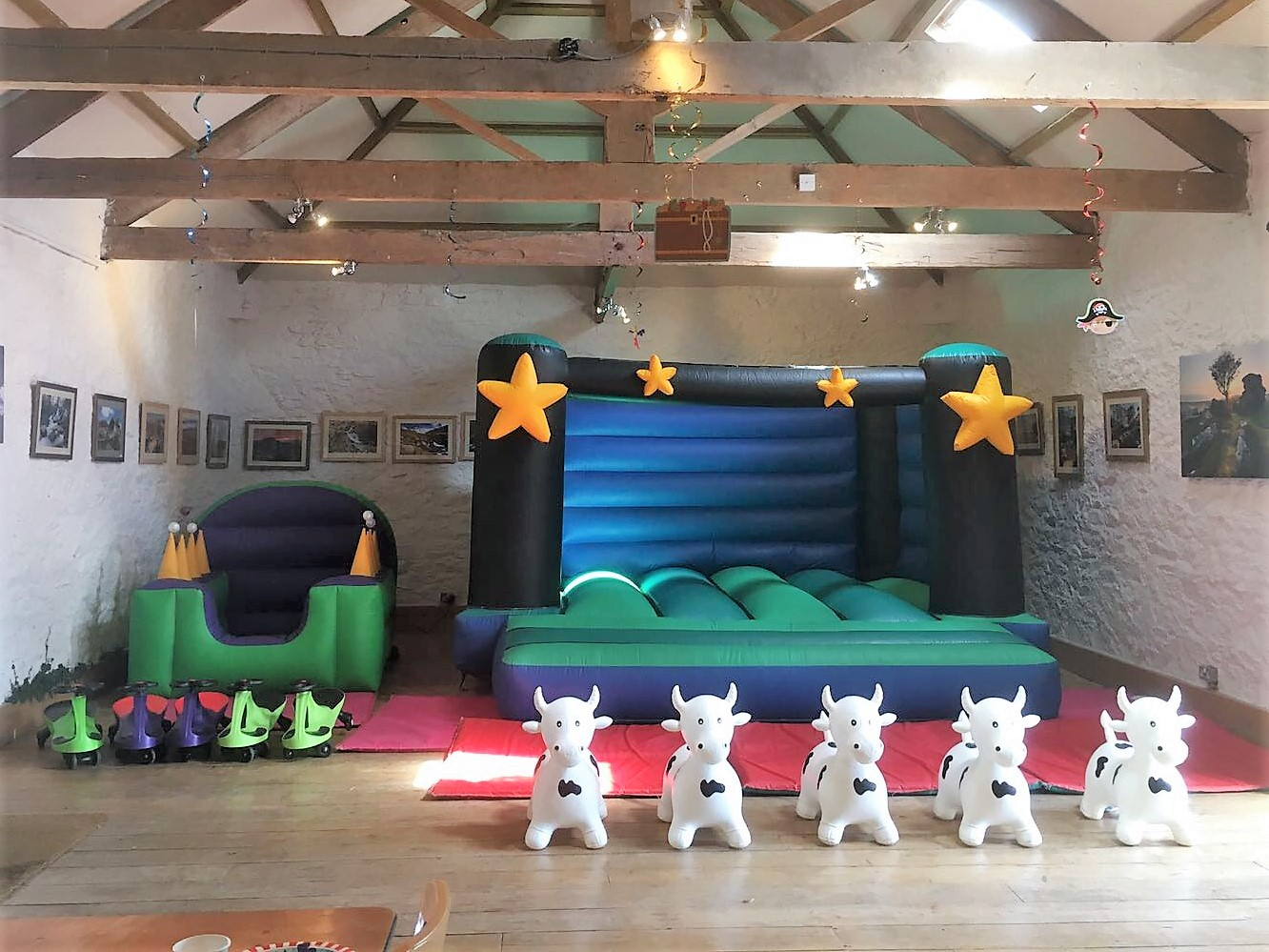 Star Bouncy Castle Package Hire In Bovey Tracey