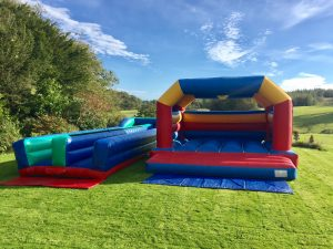 Bungee Run & Bouncy Castle hire in torbay, torquay, paignton, newton abbot and totnes