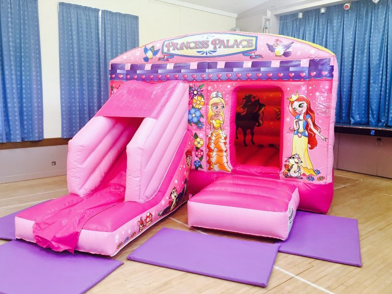 Deluxe Princess Bouncy Castle Hire Torbay