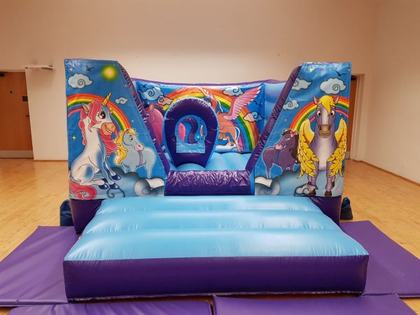 Unicorn Bouncy Castle Hire Torbay
