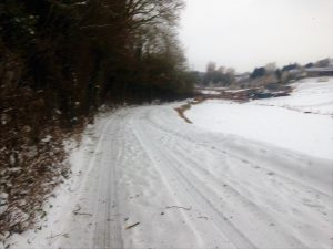 Snow in Devon
