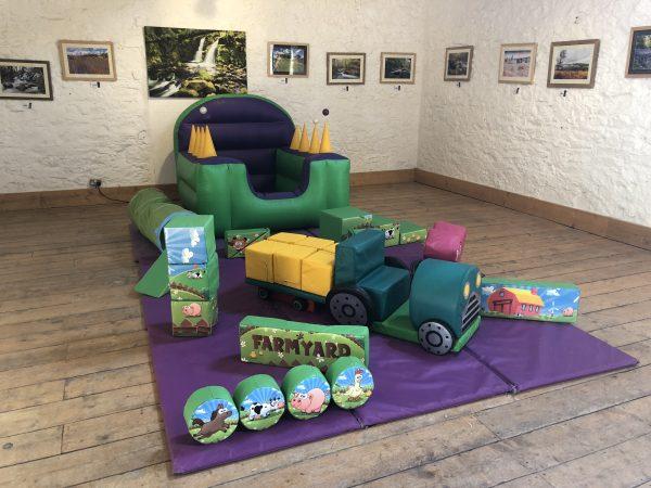 Farmyard Soft Play Hire Devon