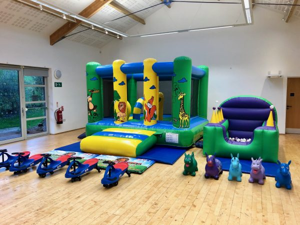 Jungle Bouncy Castle Party Package Dawlish