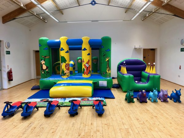 Jungle Bouncy Castle Party Package Newton Abbot