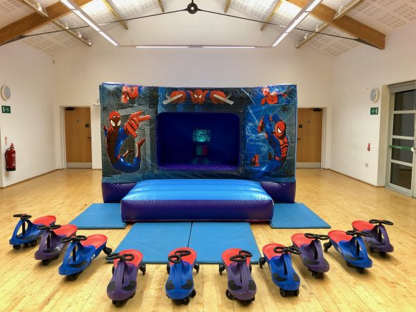 Spiderman Bouncy Castle Hire Exeter