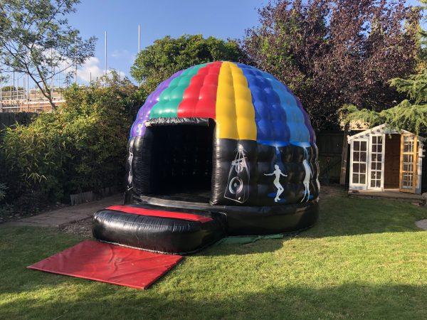 Disco Dome Bouncy Castle Hire Devon