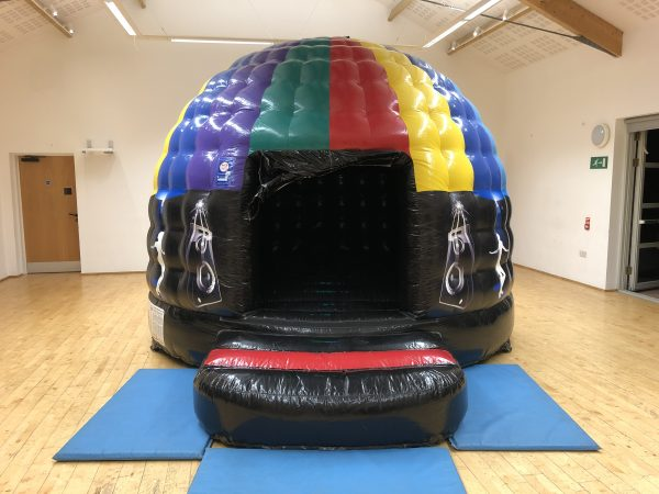 Disco Dome Bouncy Castle Hire Exeter