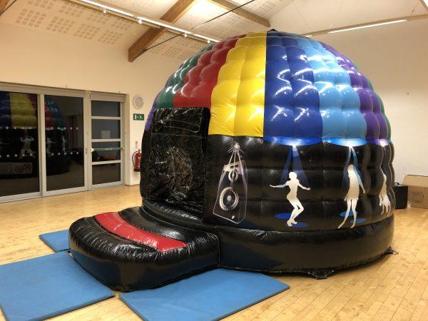 Disco Dome Bouncy Castle Hire Newton Abbot
