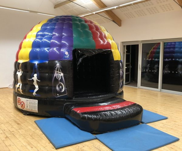 Disco Dome Bouncy Castle Hire Torbay