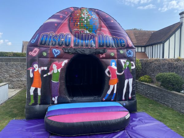 Disco Bouncy Castle For Adults